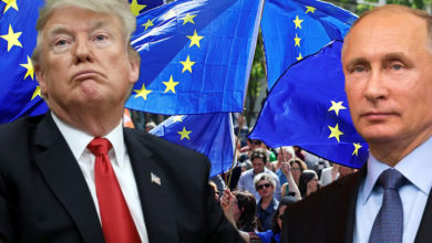 Trump Russia colluded to hack EU